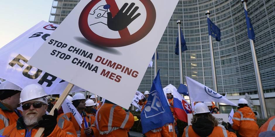 Surcapacité d'acier: la Chine nie être responsable