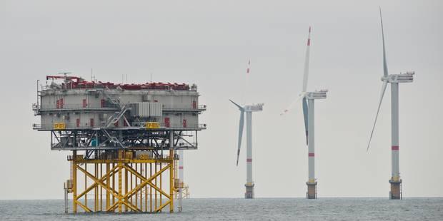 Mer du Nord: les travaux pour un nouveau parc éolien entamés en présence de la Reine - La Libre