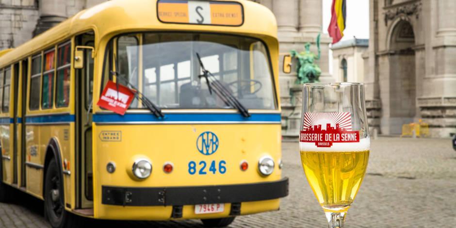 Brussels Beer Bus : découvrir les bières bruxelloises en bus