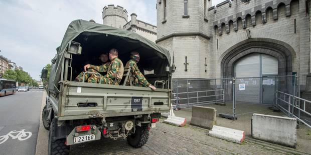 Grèves dans les prisons: pas de contact entre soldats et détenus - La Libre