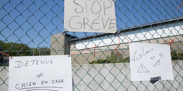 Prisons: la grogne ne cesse de monter, manifestation ce mardi - La Libre
