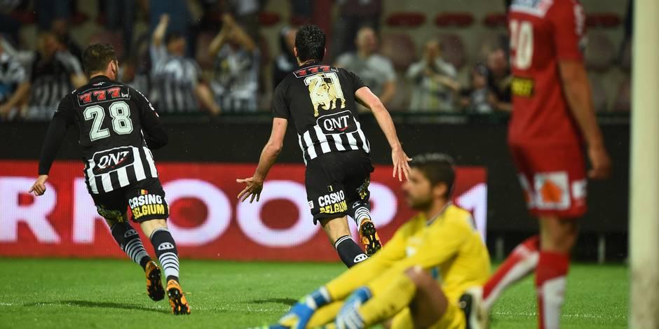 Charleroi domine Courtrai (1-2) et poursuit sa course vers l'Europe