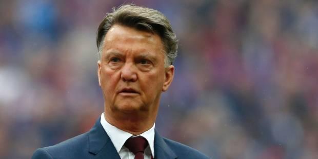 Officiel: Louis Van Gaal est viré de Manchester United - La Libre