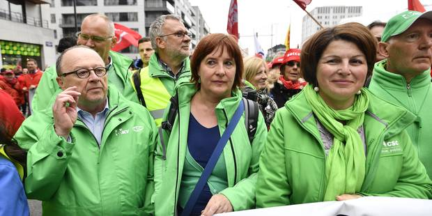 Elections sociales: La CSC en tête devant la FGTB, la CGSLB en hausse - La Libre
