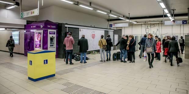 Attentats de Bruxelles: un ordre de fermer le métro doit passer par le canal de la police - La Libre