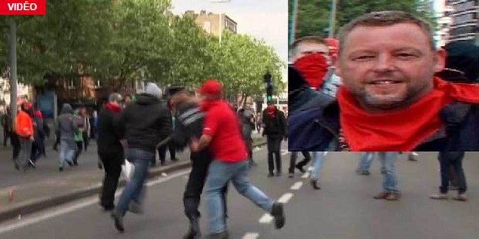 Le militant qui a agressé le commissaire Vandermissen viré de la FGTB