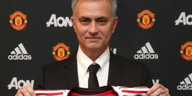 C'est officiel, Mourinho est le nouvel entraîneur de Manchester United - La Libre