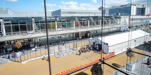 """Brussels Airport ferme sa structure temporaire et revient """"à la normale"""" ce jeudi - La Libre"""