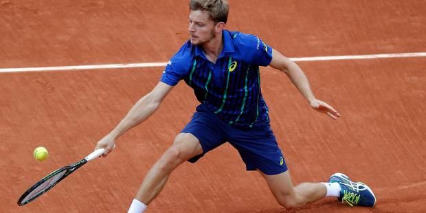 Roland Garros: Goffin, comme à la maison sur le court numéro 1 ! (VIDEO) - La Libre