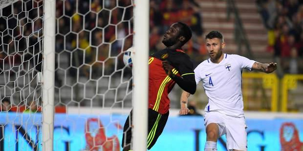 Belgique - Finlande 1-1: Les Diables évitent l'humiliation grâce à Lukaku (VIDEOS) - La Libre