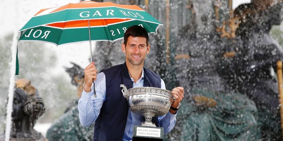 Aujourd'hui, Djokovic est seul au monde, éclipsant Federer et Nadal
