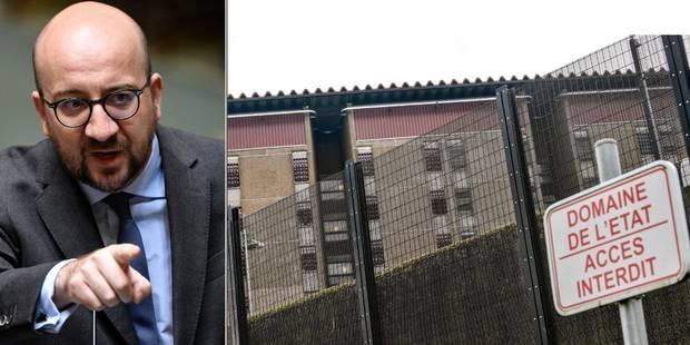 Grève dans les prisons: pour Charles Michel, les négociations sont terminées - La Libre