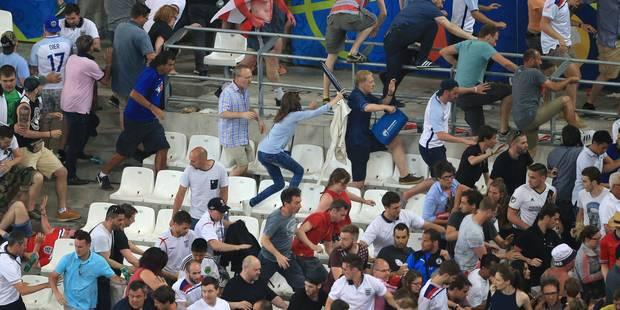 Euro 2016: échauffourées au stade Vélodrome entre supporters après Angleterre-Russie - La Libre