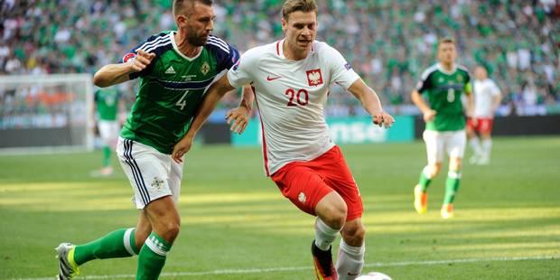 Euro 2016: pas de miracle nord-irlandais face à la Pologne (1-0) - La Libre