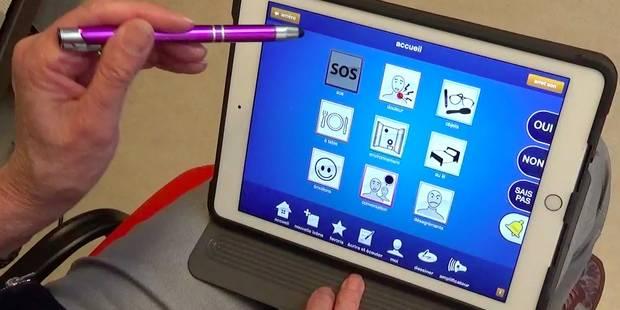 Une tablette magique pour communiquer après une ablation des cordes vocales - La Libre
