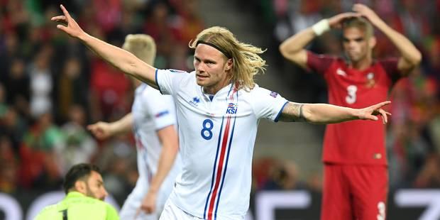 Euro 2016: le Portugal surpris par la résistance islandaise (1-1) - La Libre