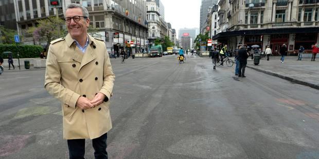 """Yvan Mayeur sur le piétonnier : """"Le périmètre ne changera pas"""" - La Libre"""