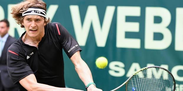 Halle: Federer éliminé en demi-finales par un jeune Allemand de 19 ans - La Libre