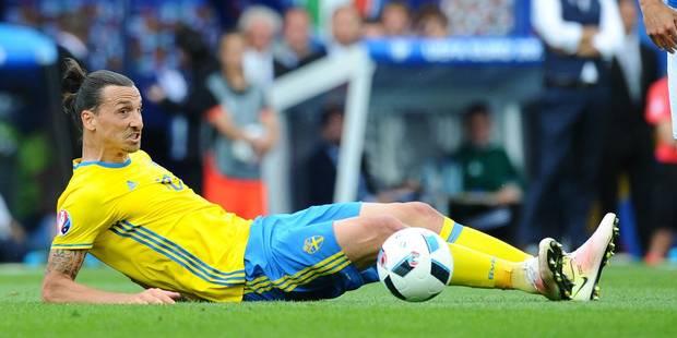 "Zlatan Ibrahimovic : ""Après l'Euro, j'arrête avec la Suède"" - La Libre"