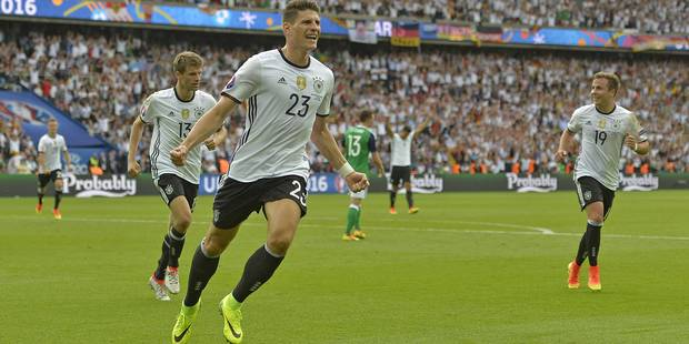 L'Allemagne bat l'Irlande du Nord en patron (1-0) - La Libre