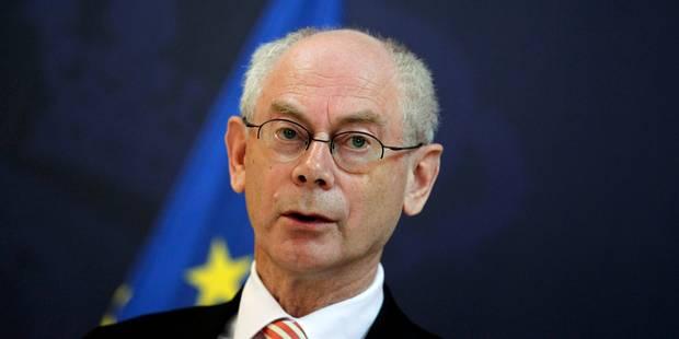 """Van Rompuy: """"Nous défendrons ce qui est avantageux pour les 27"""" (TOUTES LES REACTIONS) - La Libre"""