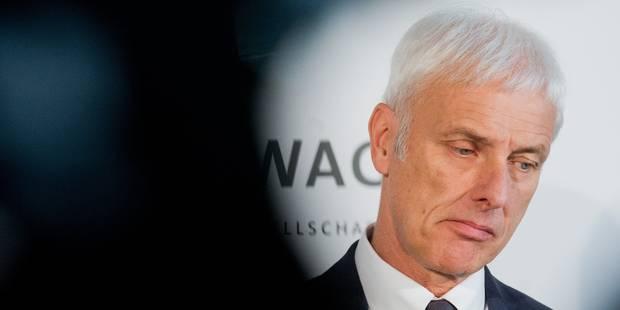Matthias Müller, l'homme providentiel de VW - La Libre