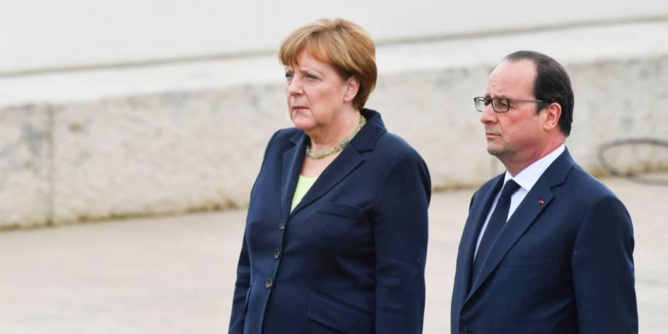 """Brexit: """"Accord complet"""" entre Paris et Berlin sur la """"manière de traiter la situation"""""""