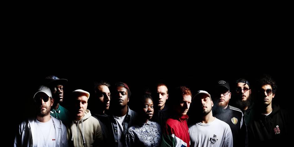 Le hip hop hisse pavillon noir-jaune-rouge - La Libre