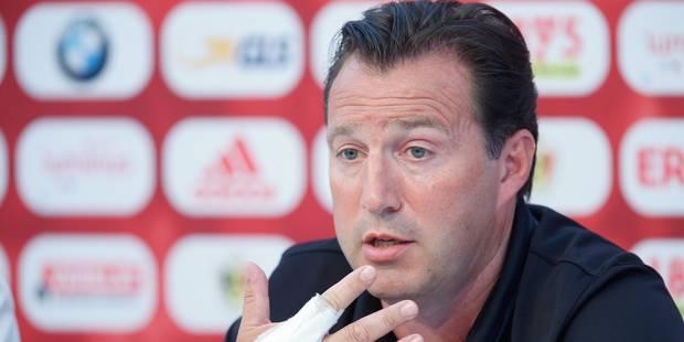 """Wilmots: """"En finale, je préfère jouer contre la France que contre l'Islande"""" - La Libre"""