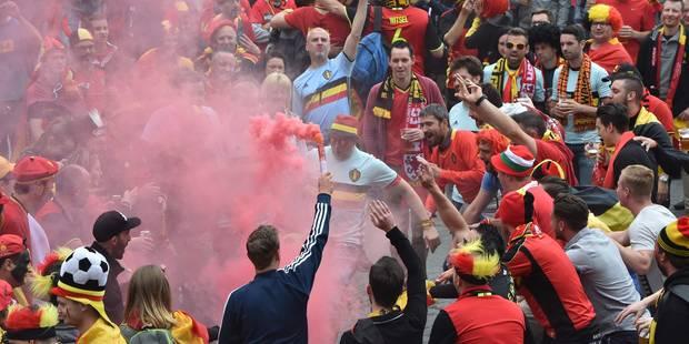 """Les supporters des Diables rouges à Lille? """"C'est la folie!"""" (Photos et vidéos) - La Libre"""
