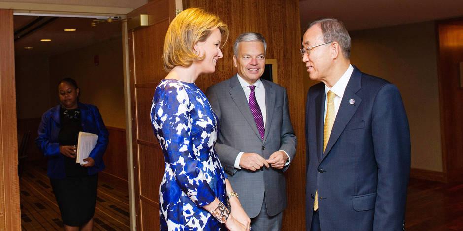 Comment Mathilde est devenue ambassadrice de l'Onu - La Libre