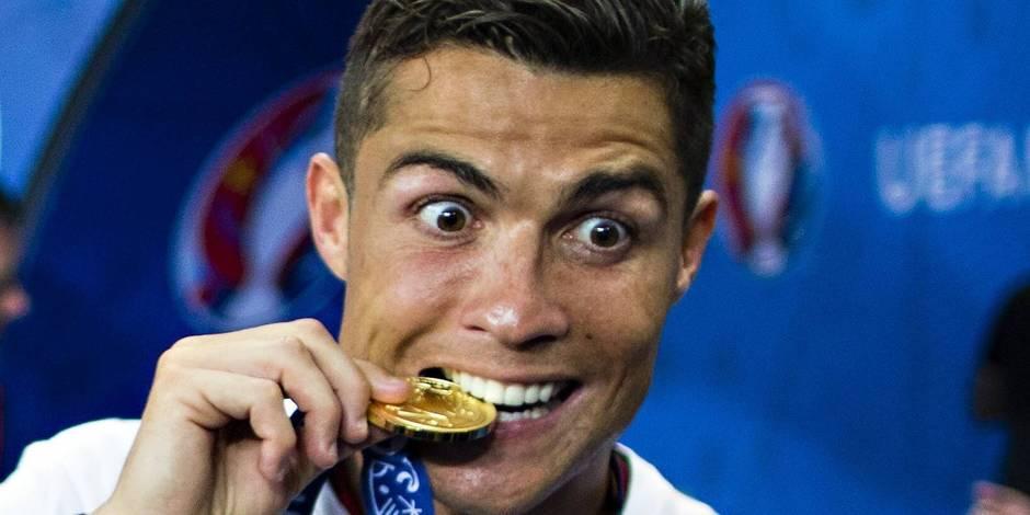 Portugal-France: malgré sa blessure, Ronaldo a assuré le spectacle au bord du terrain (VIDEOS)