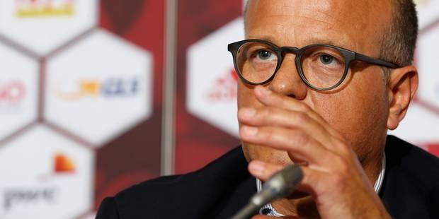 """Bart Verhaeghe: """"Michel Preud'homme n'est pas candidat"""" - La Libre"""