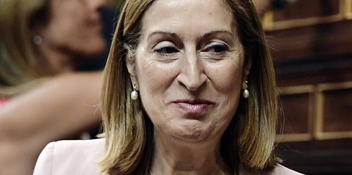 Ana Pastor, présidente du Congrès des députés espagnols