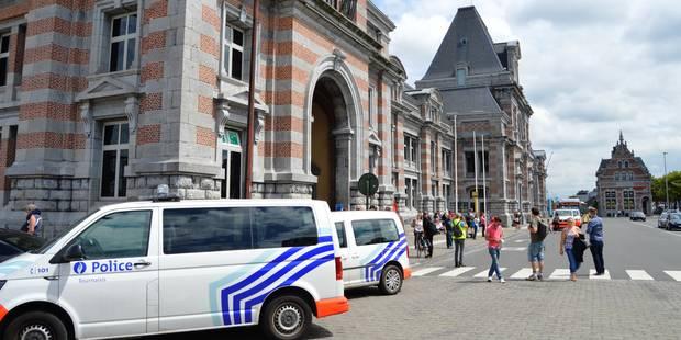 L'alerte au colis suspect est levée à la gare de Tournai - La Libre