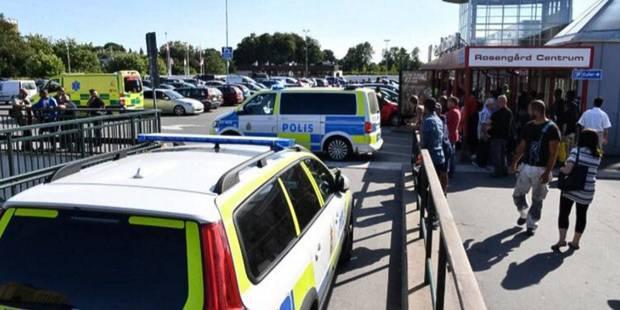Un homme se fait tirer dessus dans un centre commercial en Suède - La Libre