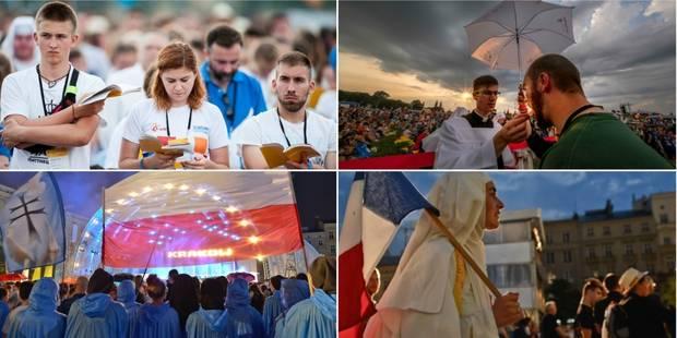 Journées mondiales de la jeunesse: à Cracovie, le pape marche sur des oeufs - La Libre