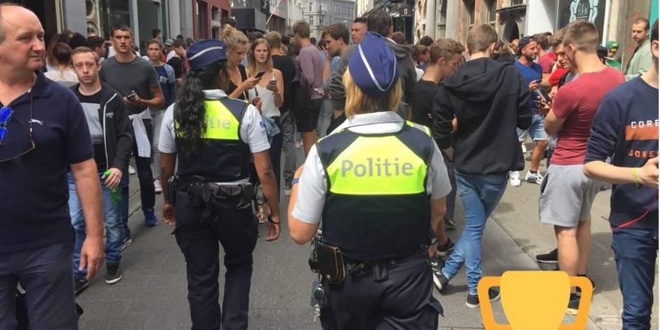 Anvers: une rue commerçante fermée à cause de joueurs de Pokémon Go