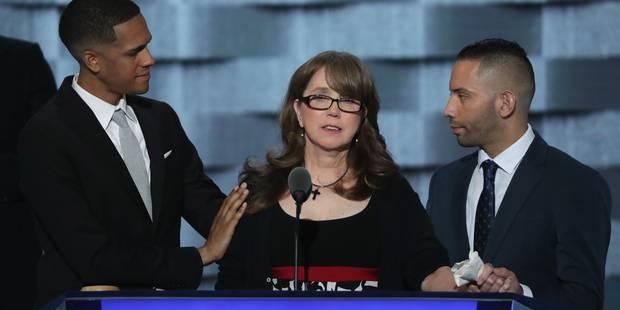 A Philadelphie, la mère d'une victime d'Orlando fait pleurer la convention démocrate - La Libre
