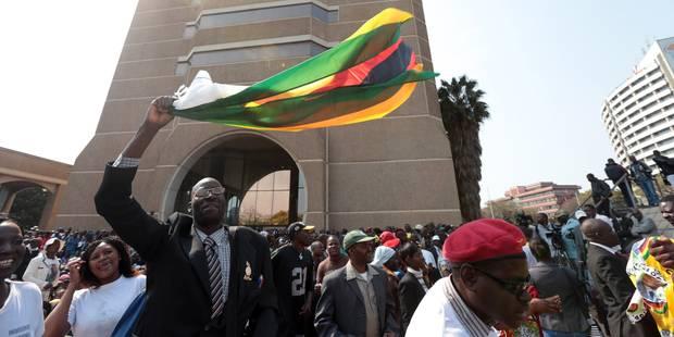 Zimbabwe: Mugabe lance la répression contre les anciens combattants contestataires - La Libre