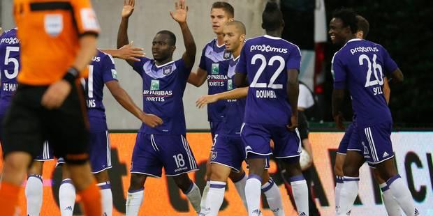 Anderlecht renverse le RMP et réussit son entrée en lice (1-2) - La Libre