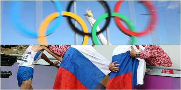 JO: le CIO aura le dernier mot sur le nombre de sportifs russes à Rio - La Libre