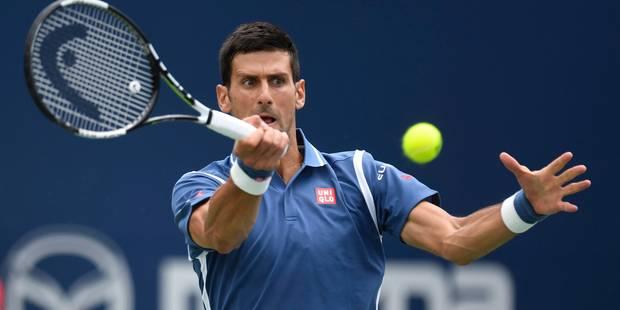Toronto : Novak Djokovic décroche son 66e titre - La Libre