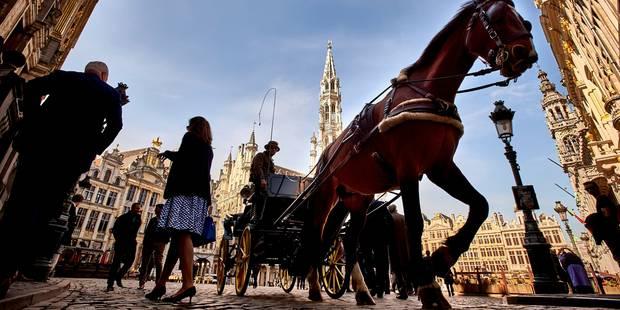 Bruxelles attire moins de visiteurs étrangers mais plus de touristes belges cet été - La Libre