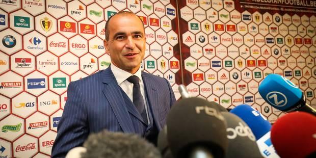 """Roberto Martinez: """"Je veux faire de Romelu Lukaku une machine à marquer des buts"""" - La Libre"""