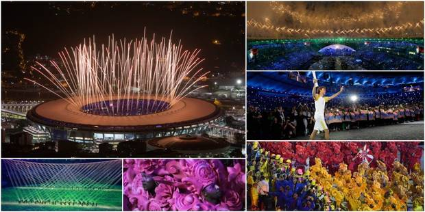 Les JO de Rio, c'est parti! (PHOTOS + VIDEOS) - La Libre