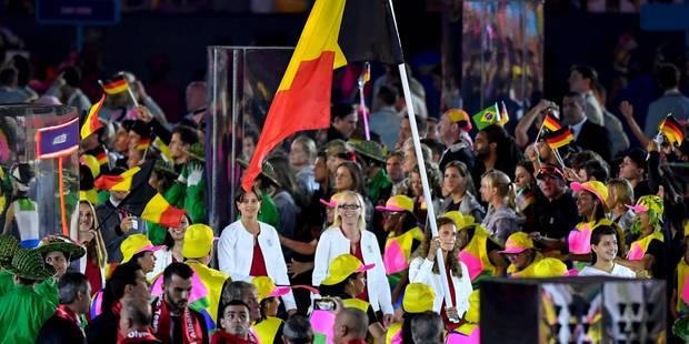 Seuls 9 athlètes belges ont défilé dans le Maracana (PHOTOS) - La Libre