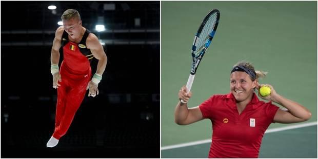 Les Belges aux JO : Flipkens bat Venus Williams, Dennis Goossens qualifié pour la finale des anneaux - La Libre