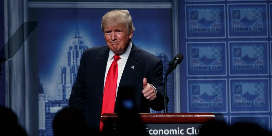 Présidentielle américaine: Donald Trump présente son plan pour l'économie