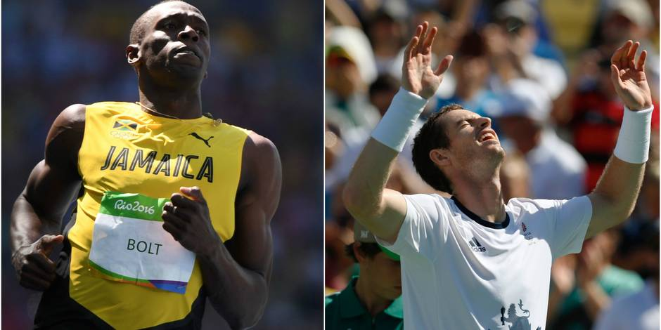 Bolt et Gatlin sans problème en demi-finales, Nadal éliminé par del Potro